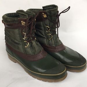 SPORTO Lace Up Terrain Boots Sz 8 ThermoLite